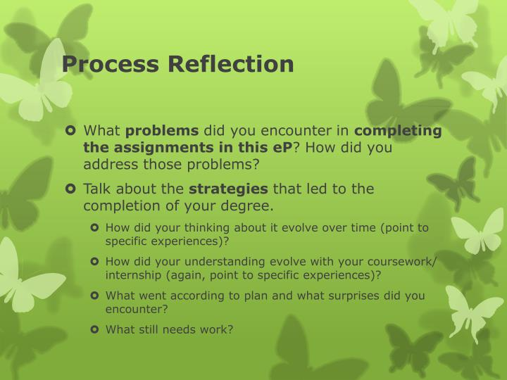 Process Reflection