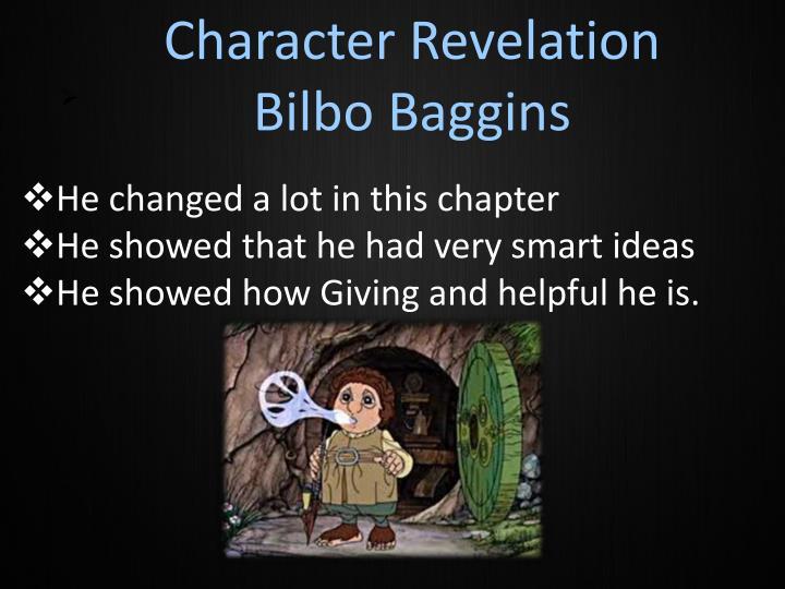 Character Revelation