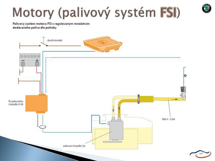 Motory (palivový systém