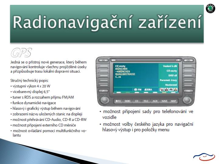 Radionavigační zařízení