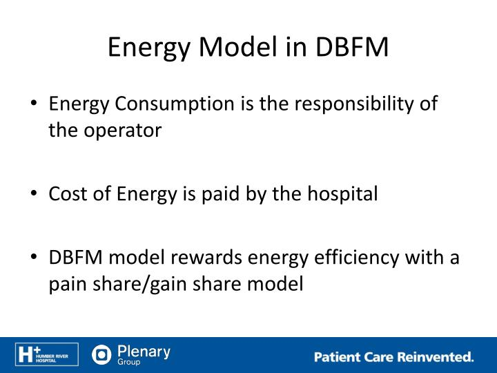 Energy Model in DBFM