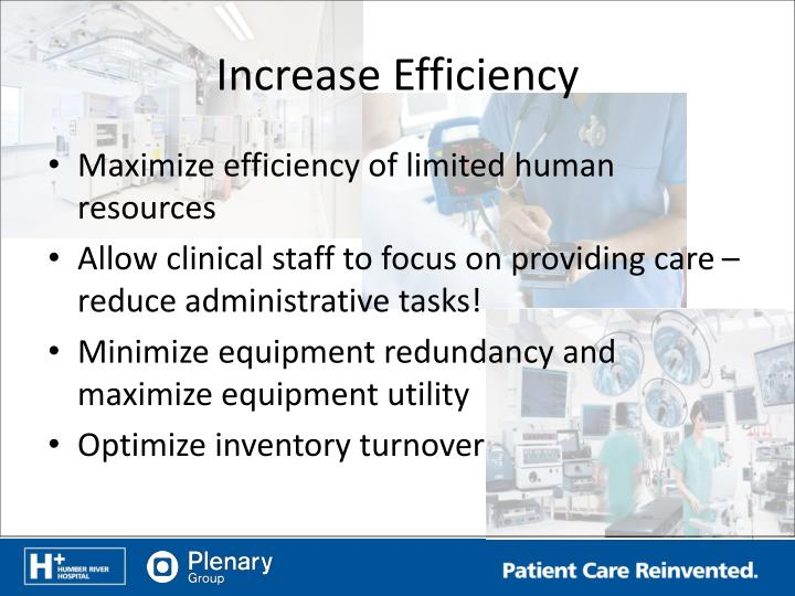 Increase Efficiency
