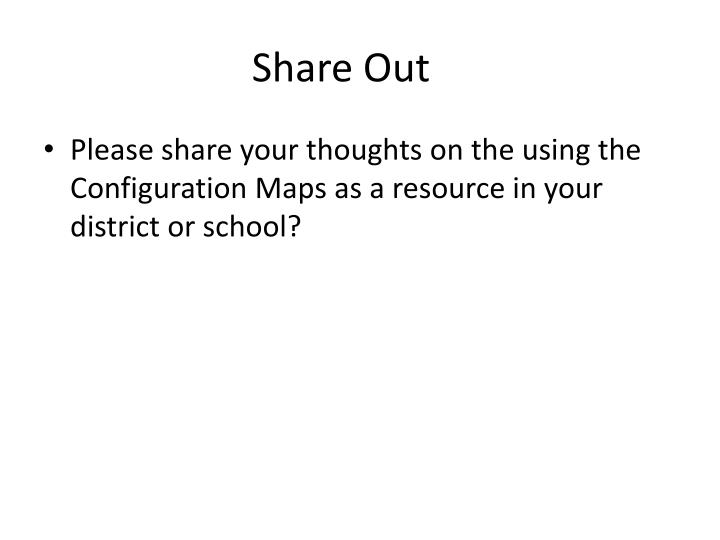 Share Out