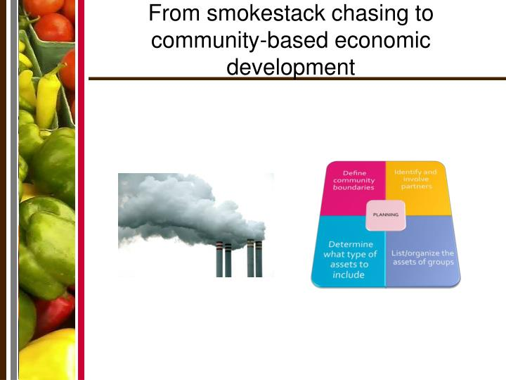 From smokestack chasing to community-based economic development