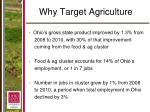 why target agriculture1
