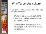 why target agriculture6