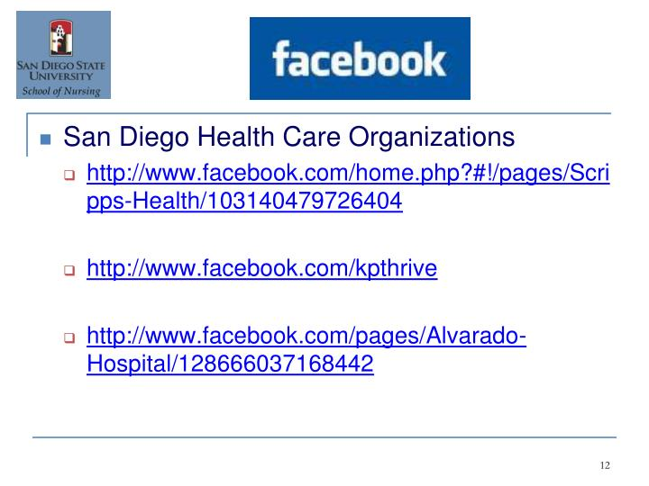 San Diego Health Care Organizations