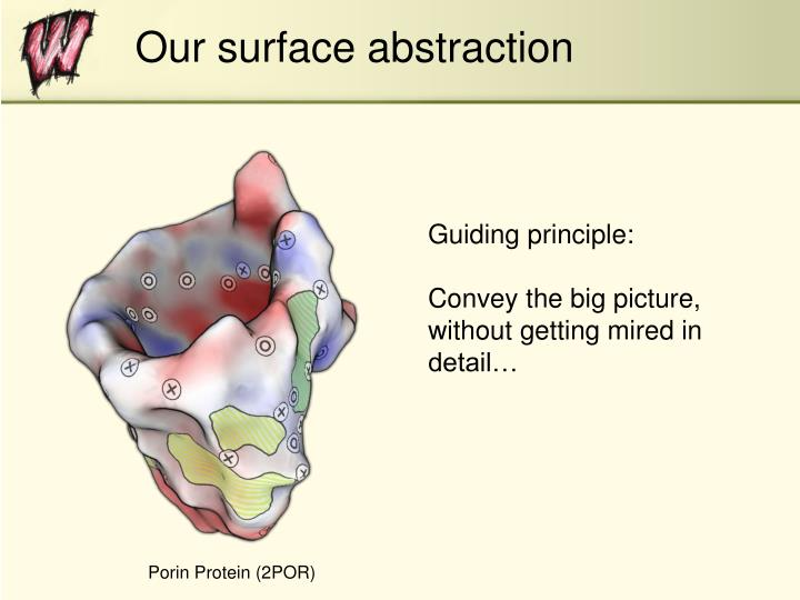 Our surface abstraction