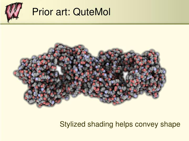 Prior art: QuteMol