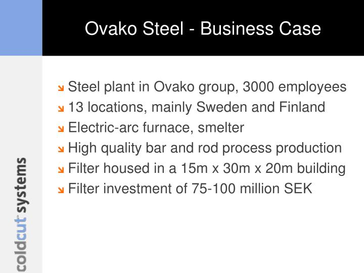 Ovako Steel - Business Case