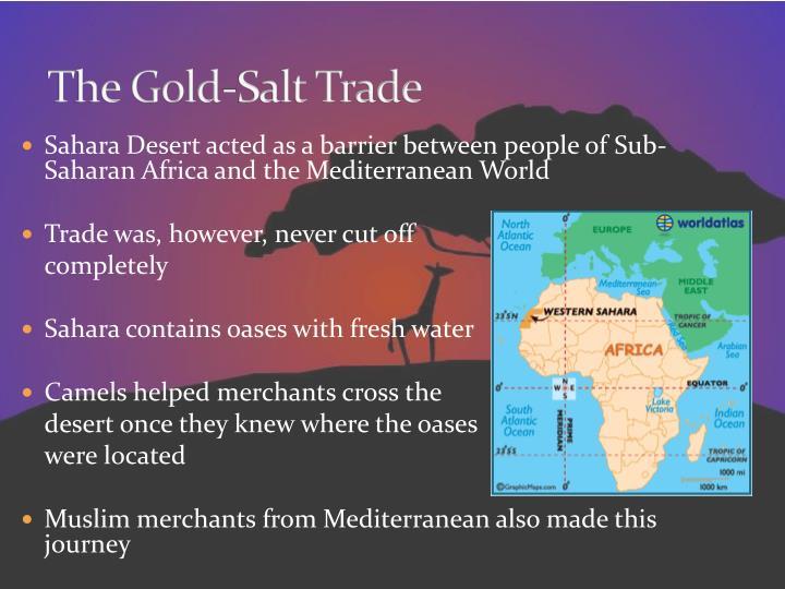 The Gold-Salt Trade