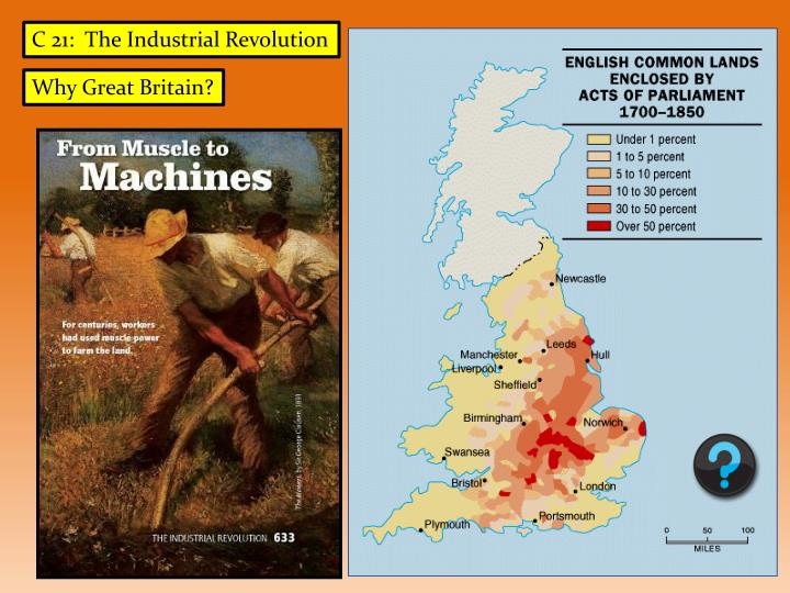 C 21:  The Industrial Revolution