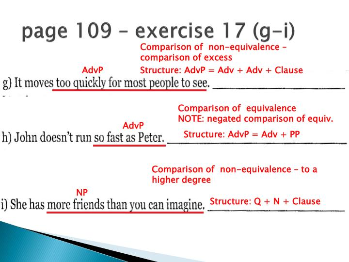 page 109 – exercise 17 (g-