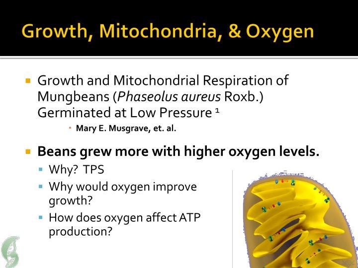 Growth, Mitochondria, & Oxygen