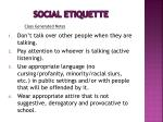 social etiquette18