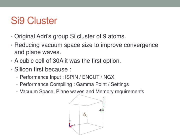 Si9 Cluster