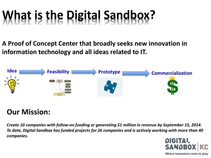 What is the Digital Sandbox