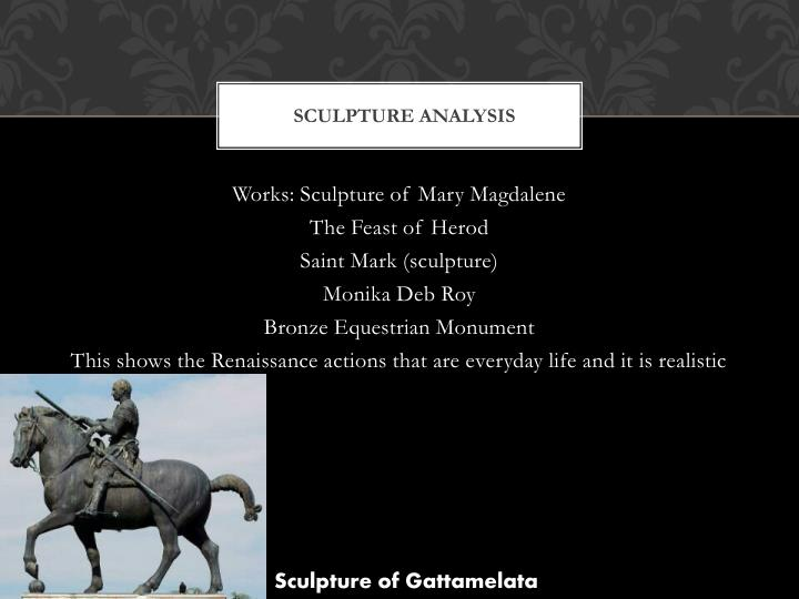 Sculpture analysis
