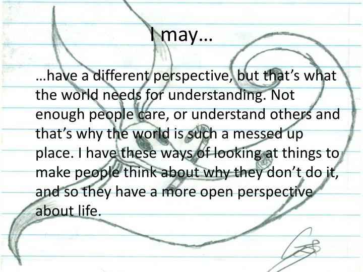 I may…