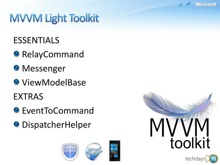 MVVM Light Toolkit