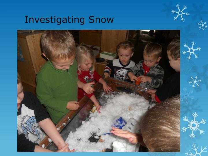 Investigating Snow