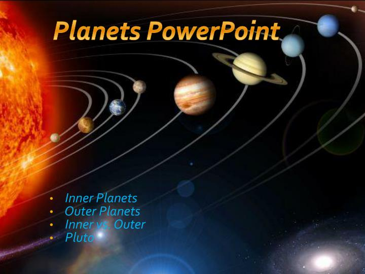 powerpoint presentation on planets - photo #24