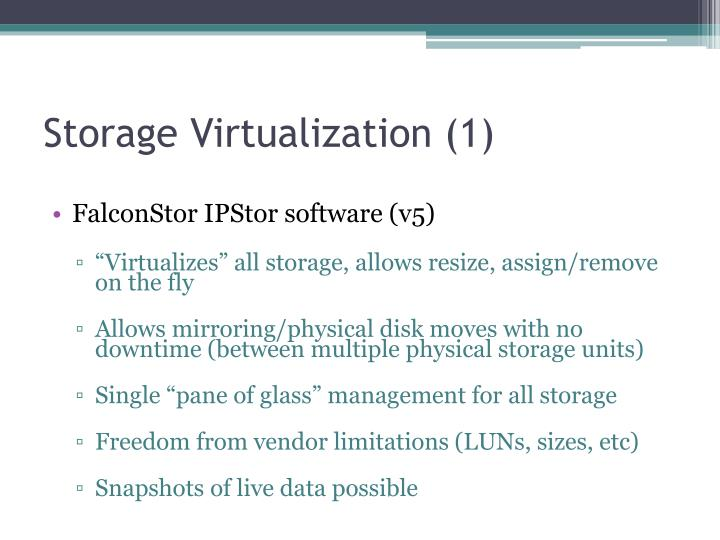 Storage Virtualization (1)