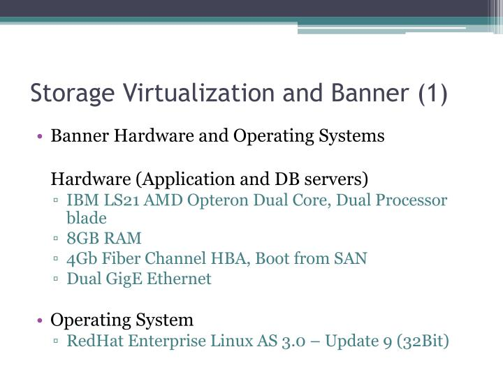 Storage Virtualization and Banner (1)