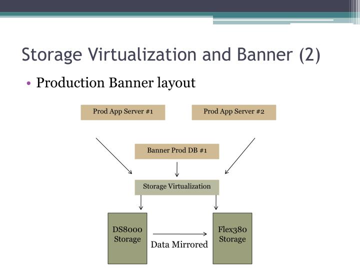Storage Virtualization and Banner (2)