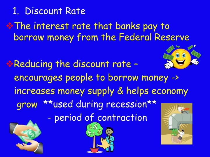 1.  Discount Rate