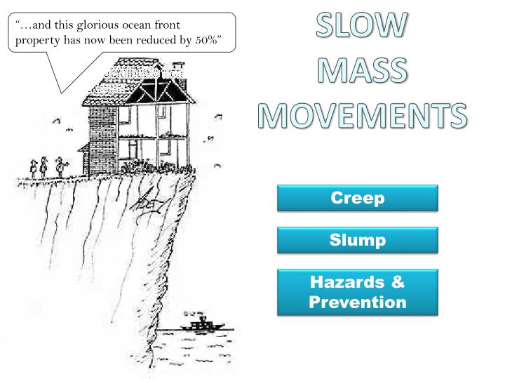 slow mass movements