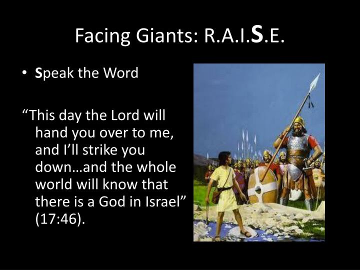 Facing Giants: R.A.I.