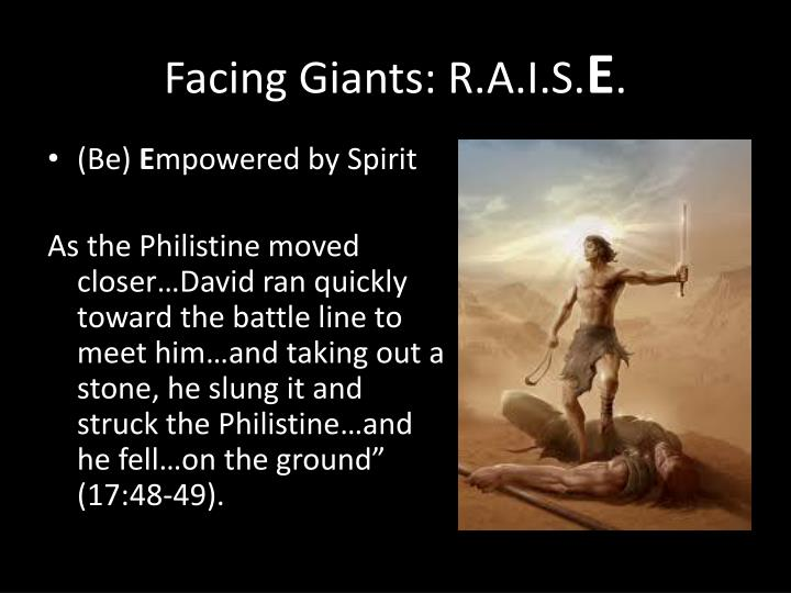 Facing Giants: R.A.I.S.
