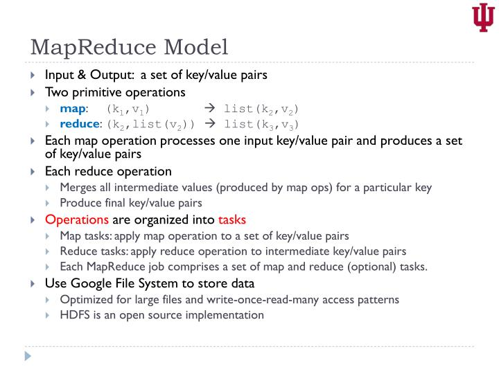 MapReduce Model