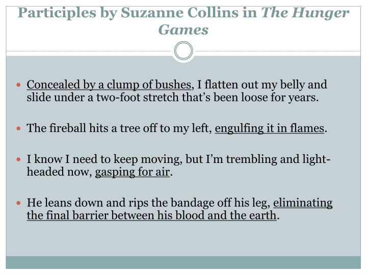 Participles by Suzanne Collins in