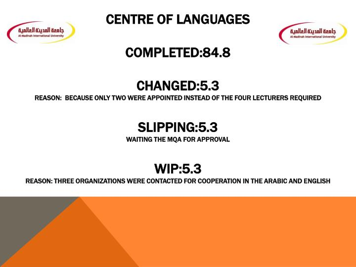 Centre of Languages