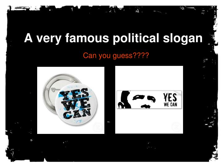 PPT - Great Campaign Slogans PowerPoint Presentation - ID ...