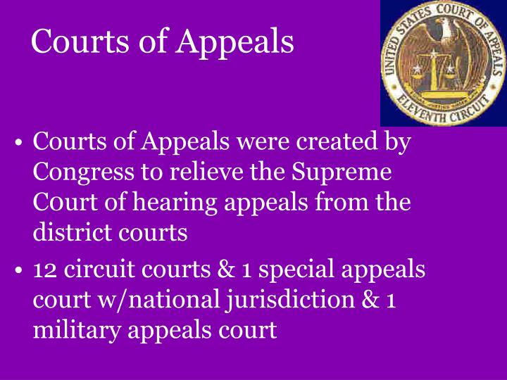 Courts of Appeals