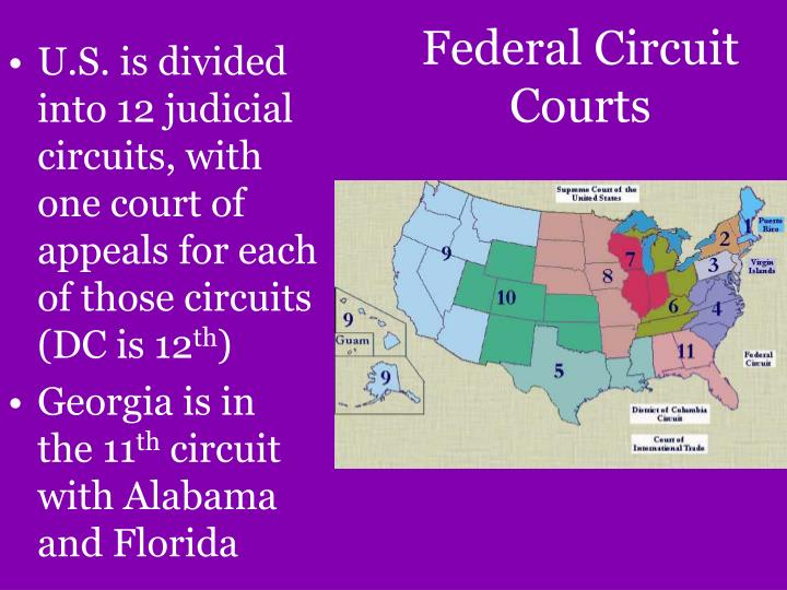 Federal Circuit Courts