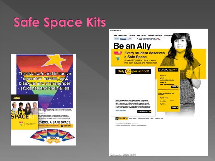 Safe Space Kits