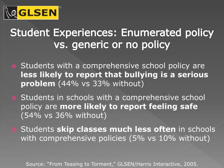 Student Experiences: