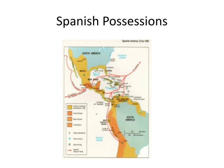 Spanish Possessions