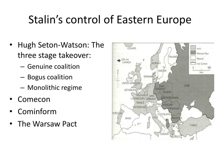 stalin s expansion in eastern europe and Positive impacts of stalin's rule 1)industrialization during the reign of stalin , plans for economic development began due to the soviet expansion in eastern europe and the defeat from the battle with france, germany's chancellor.