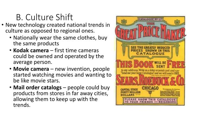 B. Culture Shift