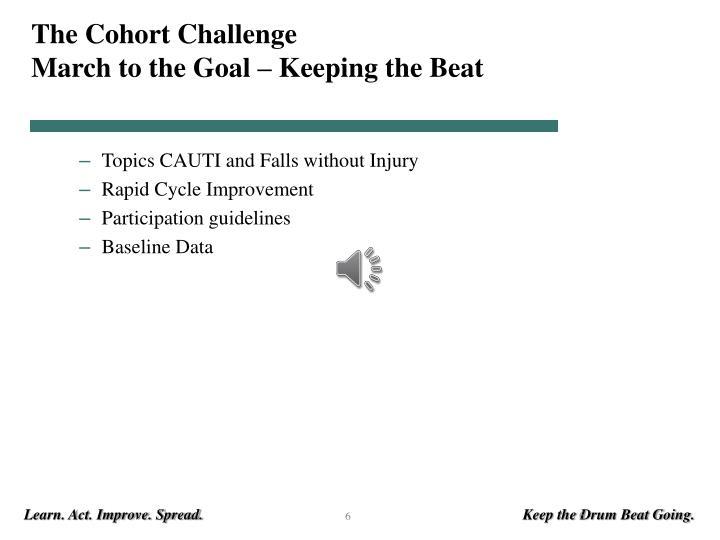 The Cohort Challenge