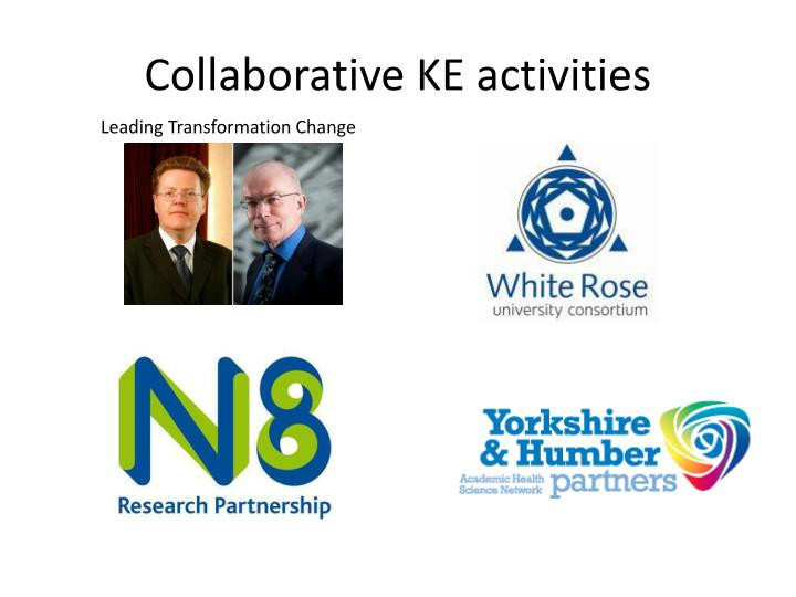 Collaborative KE activities