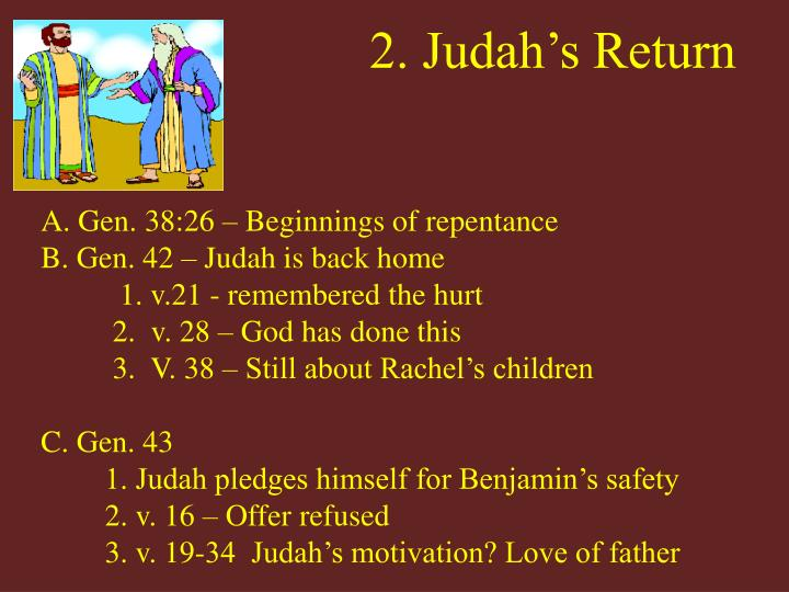 2. Judah's Return