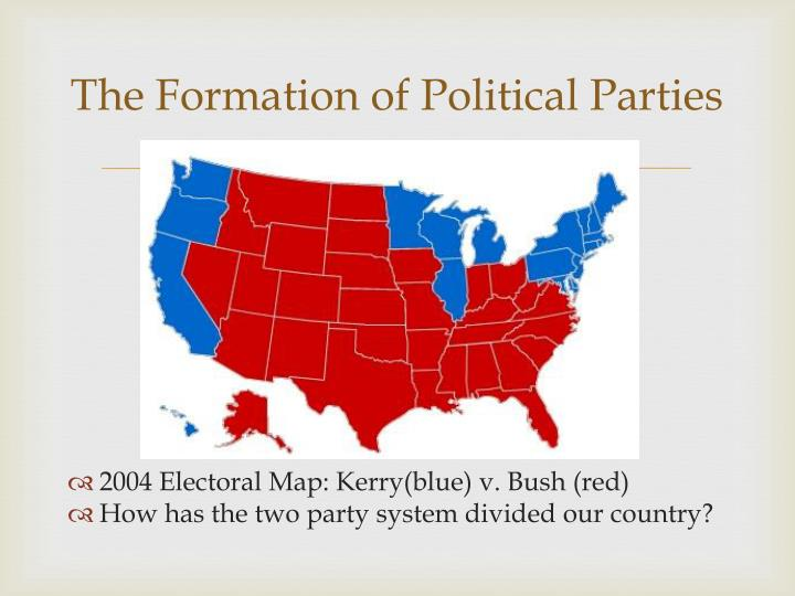 The Formation of Political Parties