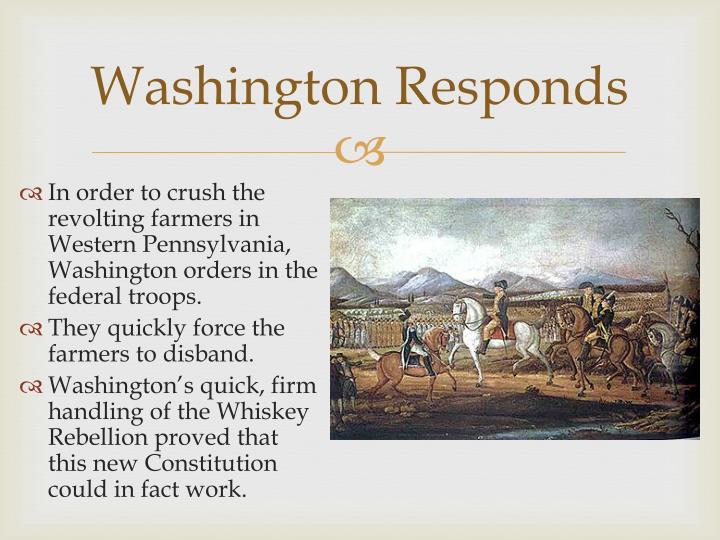 Washington Responds