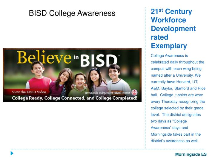 BISD College Awareness